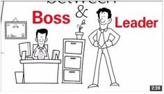 Our most seen video ever! See now. http://leanmanufacturingpdf.com/lean-leadership-boss-vs-leader/