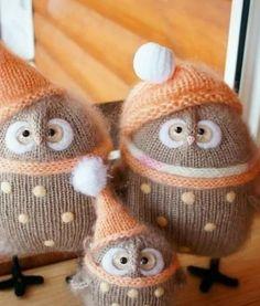 65 Ideas Crochet Toys Owl Yarns For 2019 Sock Animals, Crochet Animals, Crochet Toys, Diy Crochet, Sewing Toys, Sewing Crafts, Sewing Projects, Sock Crafts, Kids Crafts