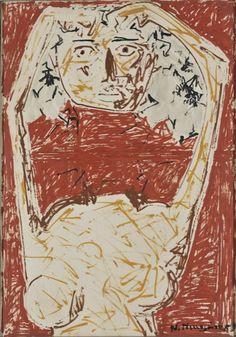 Figure - Nikos Nikolaou Art Database, Princess Zelda, Fine Art, Expressionism, Artist, Painting, Fictional Characters, Artists, Painting Art