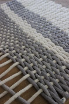 homemade rug!