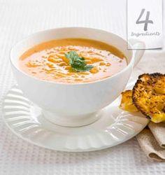 Pumpkin Soup   4 Ingredients