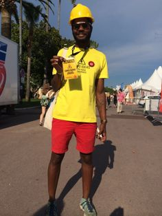 Arnaud from Nice. His look: colourful, open, standing out.