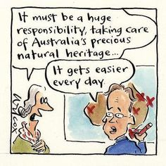 #auspol #australia #tonyabbott #greghunt #greatbarrierreef #tasmania #tasmanianforests #worldheritagesite #worldheritage