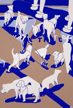 한강의 강아지들.