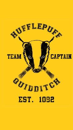Hufflepuff Quidditch iPhone 5 wallpaper