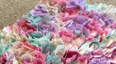 DIY Rag Rug with cost and tutorial. This is the only pin I could find that didn't just lead to spam.