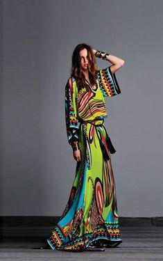 BOHEMIAN MAXI DRESS -2013 SUMMER STAPLE #BOHEMIANFASHION #BOHO #BOHEMIANDRESS #EUROPEANFASHION: