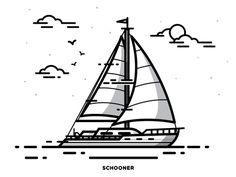 Schooner, I mean Sloop.