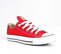 Converse Chuck Taylor All Star Shoes for Women in Red W9696