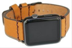 iGear 42mm Apple Watch strap BuckskinBronze leather  Space Gray buckle >>> You can get more details by clicking on the image. (It is an affiliate link and I receive commission through sales)
