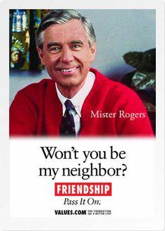 Mister Rogers Ecard | Values.com