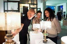 Marine Breynaert presenting her lamp collection @ Siblingsfactory - 2013 - marinebreynaert.com - photo ©Nacrour