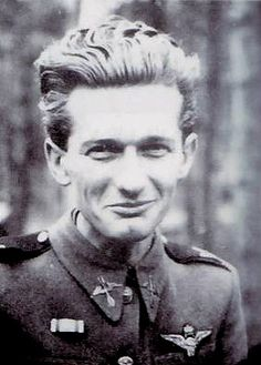 Lajos Buday, WWII Hungarian ace with 9 victories. Robin Olds, Central And Eastern Europe, Akashic Records, Fighter Pilot, Luftwaffe, World War Two, Historical Photos, Ww2, Victorious