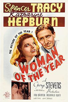 1942, Katherine Hepburn,an emancipated woman, and Spencer Tracy, a former colleague and now husband, try to negotiate and to be happily ever after married.  Snappy dialogue and Tracy and Hepburn...what could be better?