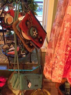 Fun Handbags by Chala. Countryside Village, Great Gifts, Gift Ideas, Handbags, Fun, Shawl, Totes, Purse, Hand Bags