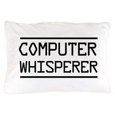 Computer whisperer Pillow Case
