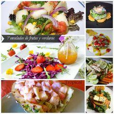 7 recetas de ensaladas con frutas y verduras