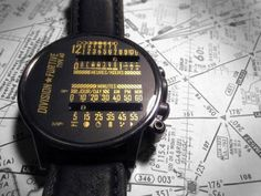 Dual Linear Wrist Watch by Division Furtive