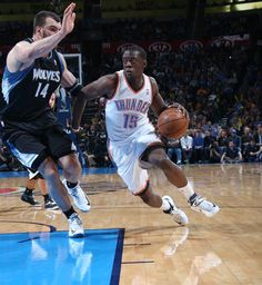 Another killer game today. Reggie Jackson could be the biggest x-factor the Thunder have come playoff time