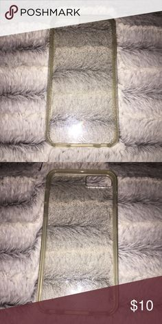 iphone six plus phone case. iphone six plus glitter case. | never used. Accessories Phone Cases