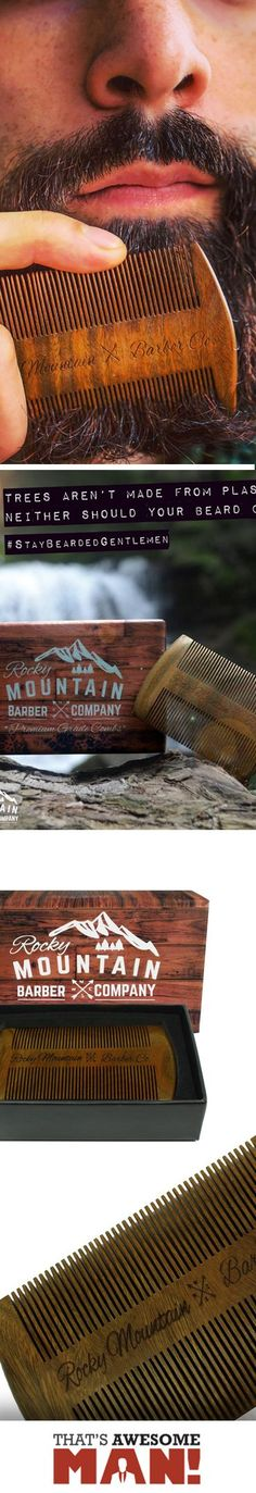 This beard comb is the ultimate beard grooming accessory!  Check it out at http://thatsawesomeman.com