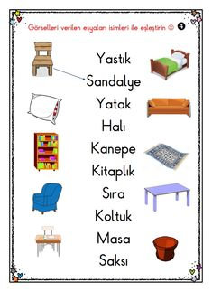 Free Preschool, Preschool Worksheets, Turkish Lessons, Learn Turkish Language, Pre School, Children, Kids, Homeschool, Thing 1
