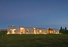 Eye Catching Cornege-Preston House in One Hectare Rural Property: Powerful Cornege Preston Home Design Exterior With Traditional Home Shaped...