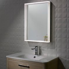 Buy Roper Rhodes Aura Illuminated LED Bathroom Mirror Online At Johnlewis