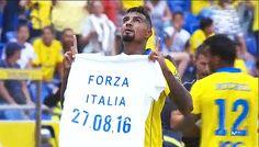 Que la sanción de 3.000 euros a Prince Boateng sea donada a Italia