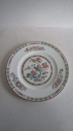 Wedgwood bone china KUTANI CRANE plate