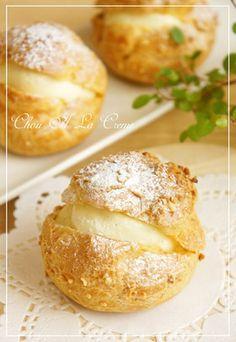 ⁂サクサク☆シュークリーム生地⁂ by nyonta [クックパッド] 簡単おいしいみんなのレシピが266万品