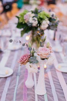 No matter whether it's milk glass or faux - still adds a very vintage / romantic touch!