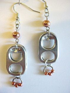pull tab earrings projects tutorials