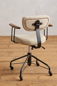 Mad Office Chair 245Wx2375Dx2975H Tailored In Faux Black