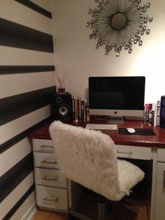 How to Make a Fun Fur Jules Desk Chair