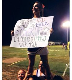 Great way to tell your crush you want to go to Homecoming! Great way to tell your crush you want to