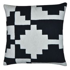 Karpas Pillow 18x18 Black, $49, now featured on Fab.