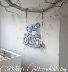 Baby Boy Room Decor, Baby Boy Rooms, Baby Room, Kids Rooms, Cute Girl Drawing, Cute Drawings, Tatty Teddy, Teddy Bear, Nursery Art