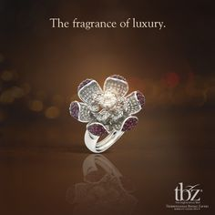#Flowers are nice. #Jewellery is the best. Agree? #WeddingsbyTBZ #TBZ #Jewels #Wedding #India #Indian #Bride #Ring #Gold #Diamond #Beautiful