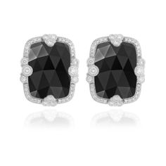 judith ripka jewelry | Save 50% today on Judith Ripka Estate Cushion Stone Earrings ...