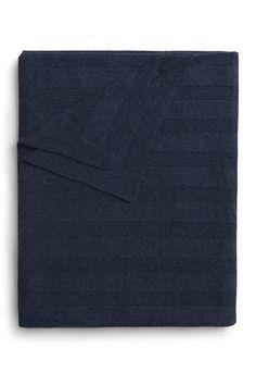 Handknit Alpaca Blanket in indigo blue. Alpaca Blanket, Baby Alpaca, Alpaca Wool, Designer Childrenswear, Textured Yarn, Sleep Shirt, Soft Blankets, Sheep Wool, Good Night Sleep
