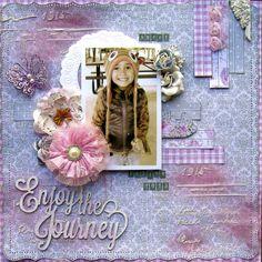 """Enjoy the Journey ~ """"C'est Magnifique January Kit"""" - Scrapbook.com"""