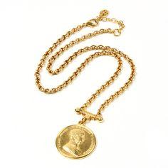 Moroccan Coin Pendant Necklace