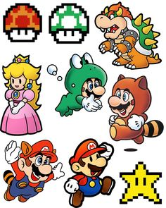 Super Mario Brothers Shrinky Dink Necklace for Video Games Day! - Doodle Craft…: Super Mario Brothers Shrinky Dink Necklace for Video Games Day! Super Mario Bros, Super Mario Kunst, Super Mario Brothers, Super Mario Tattoo, Mario Party, Tattoo Casal, Geek Mode, Mario Room, Shrink Art