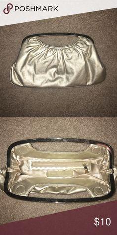EXPRESSGold Clutch Gold magnet clutch Express Bags Clutches & Wristlets