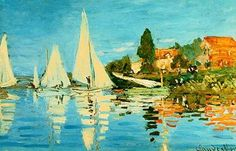 Claude Monet - love his boats and colors