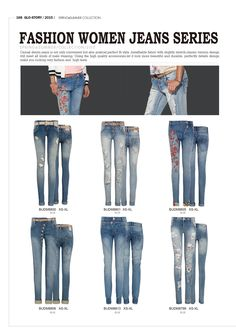 Fashion jeans for women by Glo-Story  #forwomen #clothing #fashion #glostory #jeans #denim #forsummer