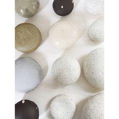 Ceramic Poufs #bdbceramics #bdbpoufs #bdb_ny