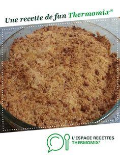 crumble pommes speculoos par Elo69. Une recette de fan à retrouver dans la catégorie Pâtisseries sucrées sur www.espace-recettes.fr, de Thermomix<sup>®</sup>.