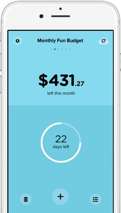 Pennies app for iPhone